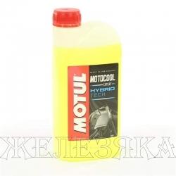 Антифриз желтый -37C MOTUL MOTOCOOL EXPERT 1л