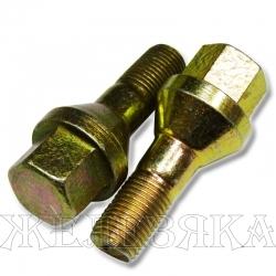 Болт колеса М12х1.25/22х52 конус ключ 17 ГАЗ-3110