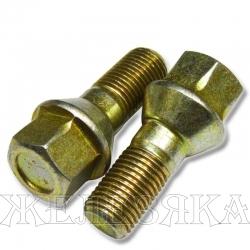 Болт колеса М14х1.5/22х52 конус ключ 19 М-2141
