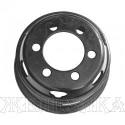 Диск колесный грузовой 16x6.00 HYUNDAI HD120 6.00GSX16-137-11T MOBIS KOREA 6 шпилек