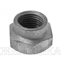 Гайка М16Х1,5 КАМАЗ крепления тормозного барабана