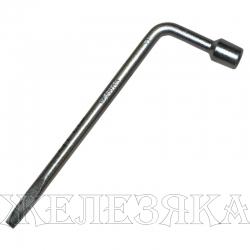 Ключ баллонный Г-образный 17 мм L=450 мм с лопаткой АВТОДЕЛО