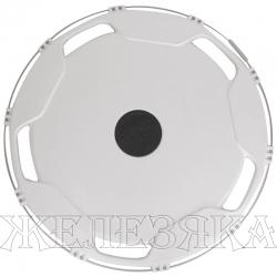 Колпаки колесные R-22.5 задний пластик белый 1шт