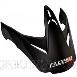 Козырек шлема LS 2 Peak MX433.5 singl matt black