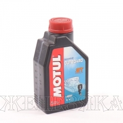 Масло для лодочных моторов 2-тактное MOTUL OUTBOARD 2T 1л мин.