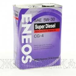Масло моторное ENEOS SUPER DIESEL CG-4 4л п/с