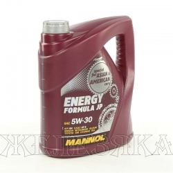 Масло моторное MANNOL ENERGY FORMULA JP SN GF-5 4л син.