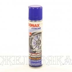 Очиститель шин SONAX XTREME эффект мокрых шин 400мл аэрозоль