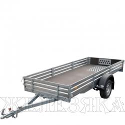 Прицеп легковой МЗСА 817715 R-13 Кузов мм 3449x1371х290 без тента г/п 474кг