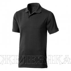 Рубашка-поло цв.черный р.M