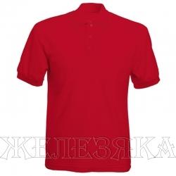 Рубашка-поло цв.красный р.M