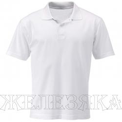 Рубашка-поло кор.рукав цв. Белый р.M