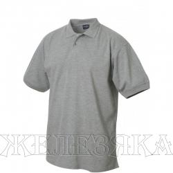 Рубашка-поло кор.рукав цв. Серый р.M