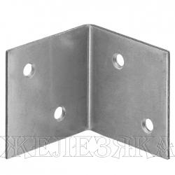 Уголок мебельный широкий УМШ-1.5 40х40х40х1.5мм белый цинк ЗУБР