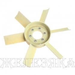 Вентилятор ЗИЛ-5301,ГАЗ-3310,МТЗ 6-ти лопастной пластик РК