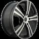 Диск колесный 18 литой REPLICA lx105 bkf