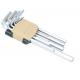 Набор ключей RF-5116L Г-образных 6-гранных длинных 11пр.(1.5, 2, 2.5, 3, 4, 5, 6, 7, 8, 10, 12мм)в пластиковом держателе ROCKFORCE /1