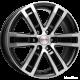 Диск колесный 17 литой K&K  R7-Рольф-оригинал (КС457)  7,5\R17 6*139,7 ET25  d106,1  Алмаз-черный  [r34594]