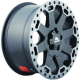 Диск колесный 17 литой BUFFALO BW-200 matte-black-w__machine-dark-tint-lip