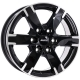 Диск колесный 16 литой ALUTEC Titan Diamond Black Front Polished