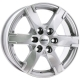 Диск колесный 17 литой ALUTEC Titan Polar Silver