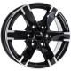 Диск колесный 17 литой ALUTEC Titan Diamond Black Front Polished