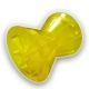 Ролик носовой прицепа L=95мм, d (вала)=14.5мм, D(внеш.)=87мм желтый