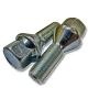 Болт колеса М12х1.25/28х52 конус ключ 17 цинк BIMECC