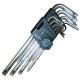 Набор ключей TORX 9 пр.Т10-Т50 Г-обр.с отверстием