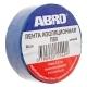 Изолента синяя 19ммх9,1м ABRO