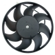 Вентилятор ВАЗ,М-2141,ЗМЗ-402 электрический СБ 110Вт LUZAR
