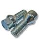 Болт колеса М14х1.5/30х53.5 конус ключ 17 цинк BIMECC