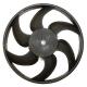 Вентилятор ВАЗ-1118 Лада Калина электрический СБ LUZAR без кожуха
