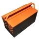 Ящик для инструментов 400х200х200мм раскладной металлический АВТОДЕЛО