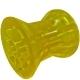 Ролик носовой прицепа L=74мм, d (вала)=14.50мм желтый