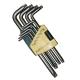 Набор ключей TORX 9 пр.Т10H-Т50H Г-обр.удлин с отверстием