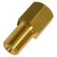 Переходник тормозных трубок WP М12х1(F)-М10х1(M) S=13