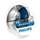 Автолампа 12V H3 55W PK22s PHILIPS DIAMOND VISION к-т