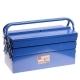 Ящик для инструментов 420х210х200мм раскладной металлический 5 отсеков ТЕХМАШ