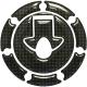 Наклейка защитная на крышку бензобака KAWASAKI RK001CF KEITI