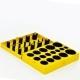 Набор колец уплотнительных 32 размера 419шт.резиновых 8C желтые