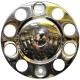 Колпаки колесные R-22.5 525C INOX передний без надписи к-т 2шт
