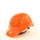 Каска защитная строительная оранжевая