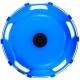 Колпаки колесные R-22.5 задний пластик синий 1шт