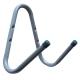 Крюк настенный J-обр.двойной для садового инструмента, нагрузка 29.5кг