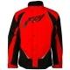Куртка мото FLY RACING AURORA ATV/снегоход зимняя черная/красная XL