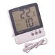 Термометр бытовой электронный с уличным датчиком, 2 режима НТС-3