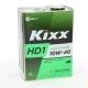 Масло моторное KIXX HD1 CI-4/SL E7-08/B4/A3-07 4л син.