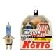 Автолампа 12V IH01 60/55W(100/90W) WHITE KOITO к-т