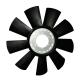 Вентилятор ЯМЗ-7511.10,658.10 крыл.d=660 мм СПЕЦМАШ